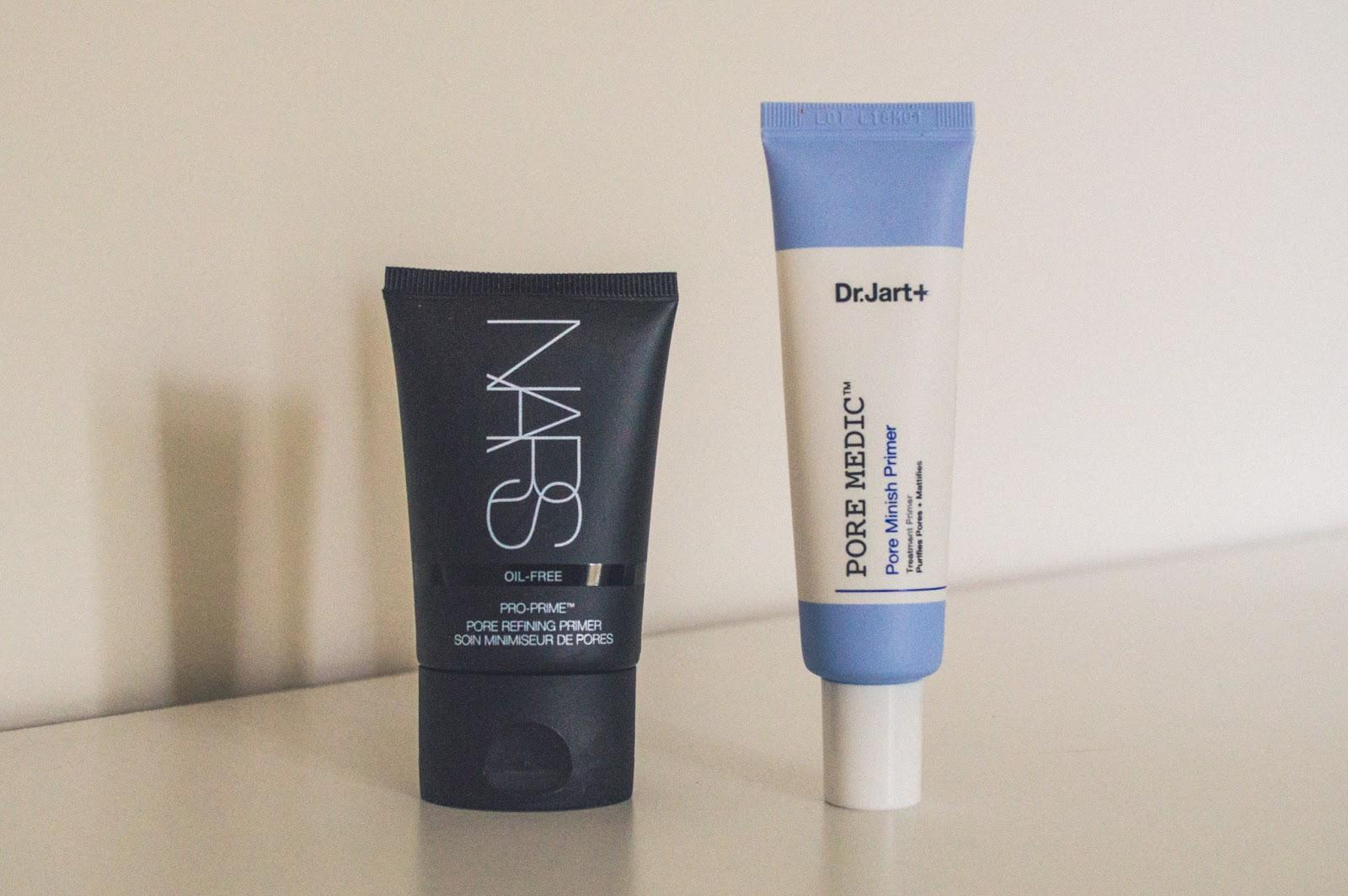 NARS Pro-Prime Pore Refining Primer & Dr.Jart+ Pore Medic Pore Minish Primer