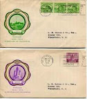U.S. #728 & #729 Century of Progress FDCs