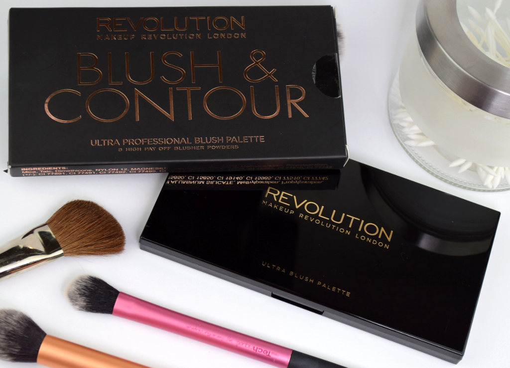 Makeup Revolution 'Sugar & Spice' Blush & Contour Palette Review