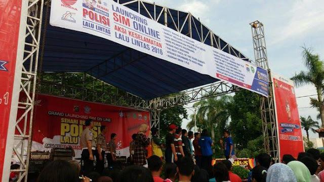 SIM Online Resmi Diluncurkan di Palembang