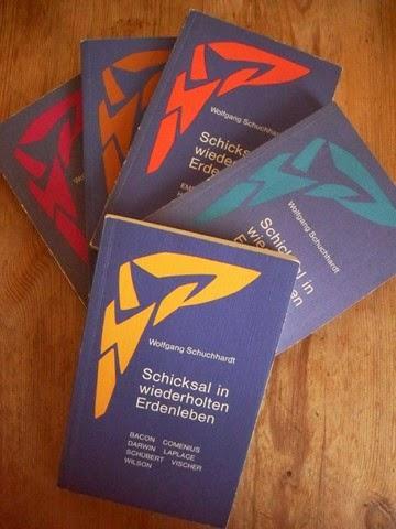 Schuchhardt, Wolfgang: Schicksal in wiederholten Erdenleben. Biographien zu den Karmavorträgen Rudolf Steiners / Bd. 1-5 - neu im Angebot!