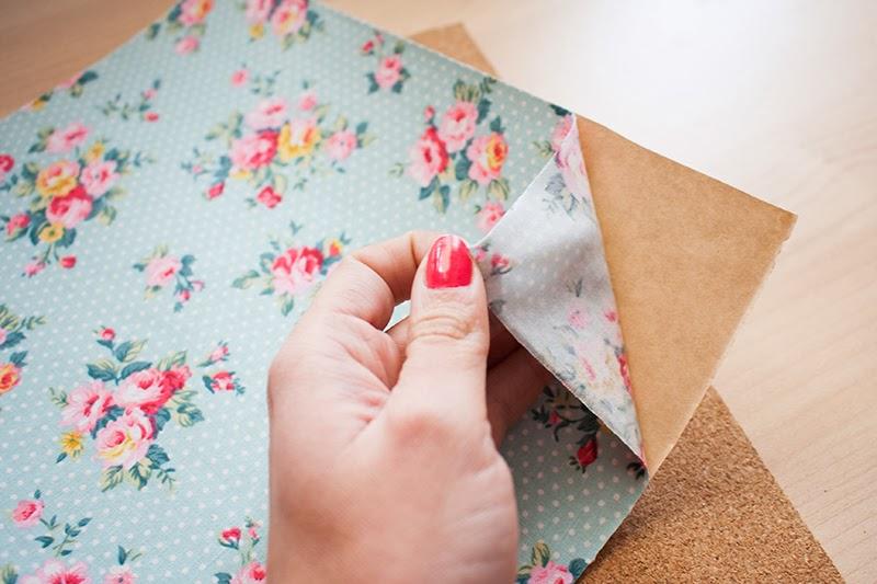 Diy memo board mi primera m quina de coser - Tela de corcho ...