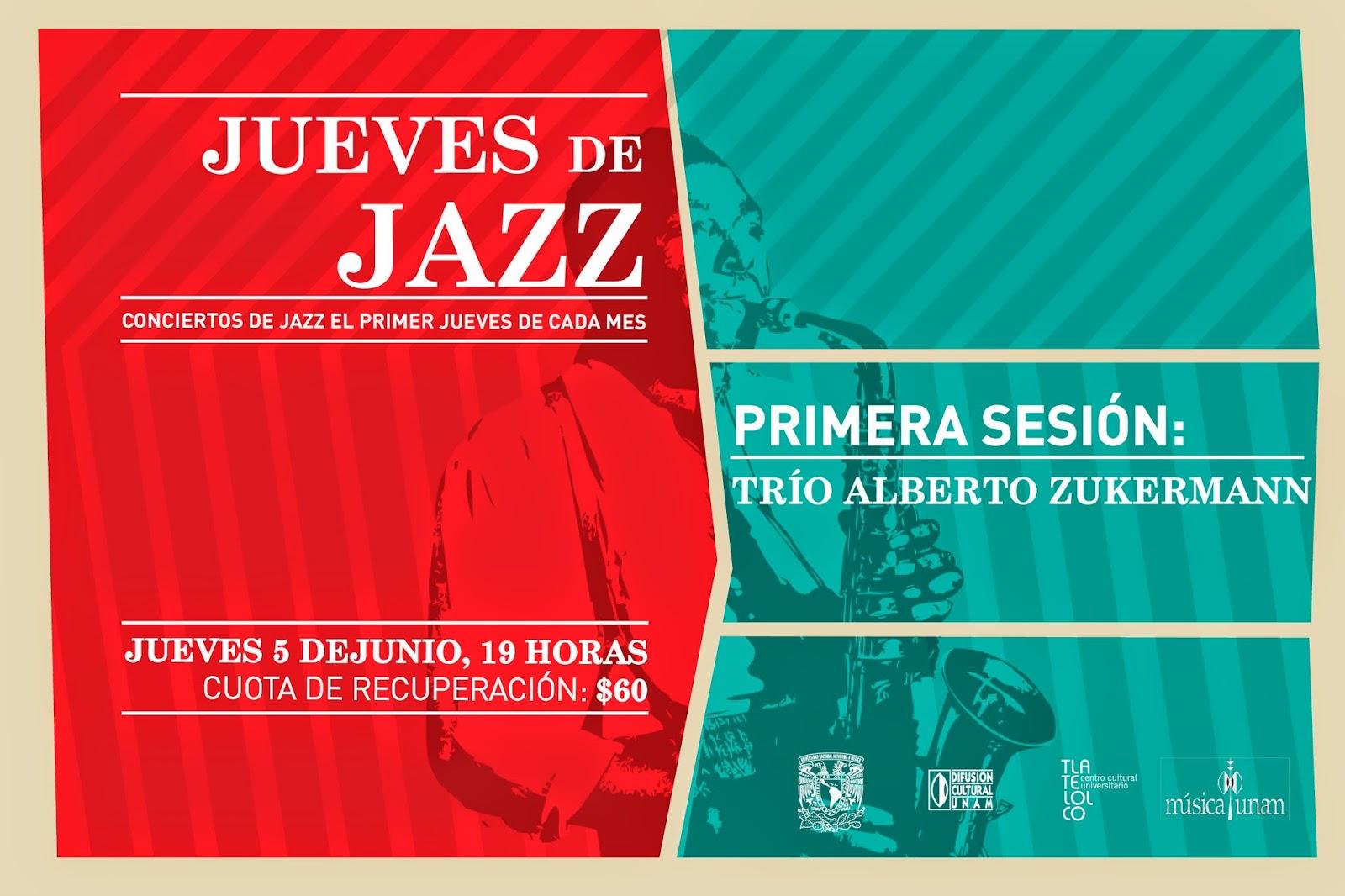 Da inicio ciclo Jueves de Jazz en Tlatelolco