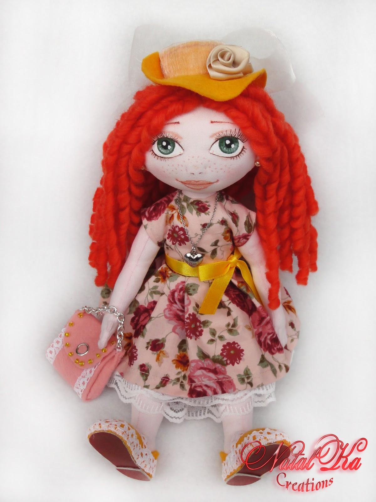 Авторская текстильная кукла от NatalKa Creations. Art doll