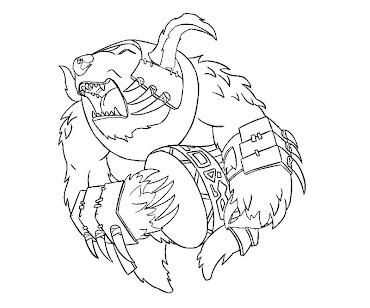 #31 Dota 2 Coloring Page