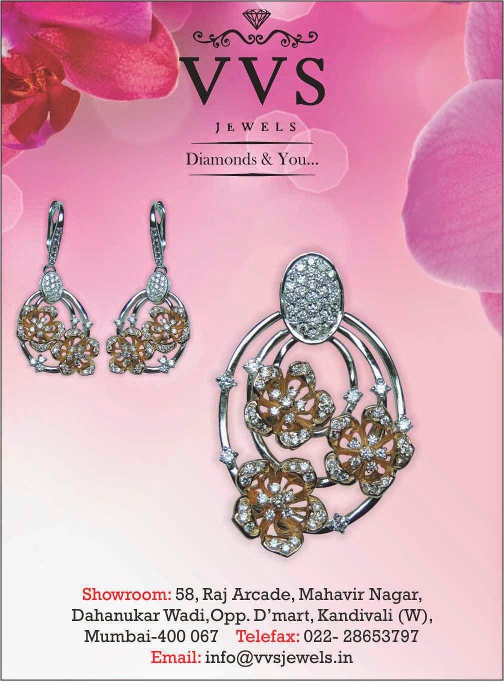 VVS Jewels Private Limited Diamonds & You…..   Mumbai Newsbox