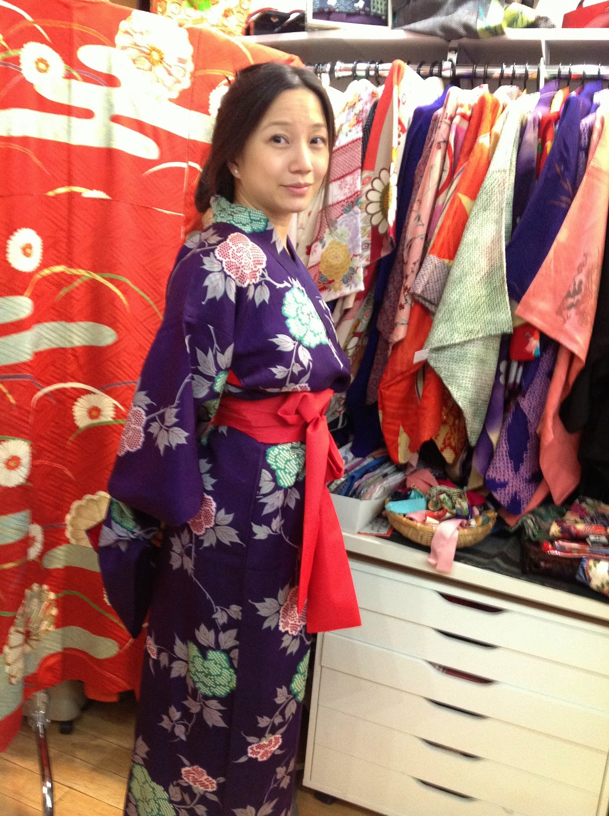 Yukata kimono New York