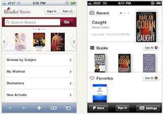 Sony Reader in Apple App Store