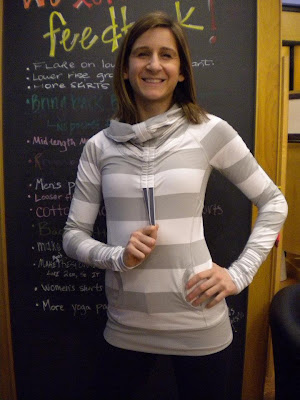 lululemon silver spoon stay on course pullover