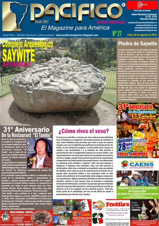 Revista Pacífico Nº 27 Arqueología