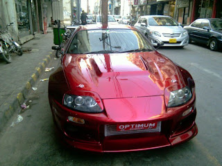 Supra car - Color: Red  // Description: amazing