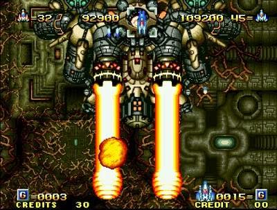 Alpha Misión 2 / ASO 2: Last Guardian arcade videojuego portable descargar gratis
