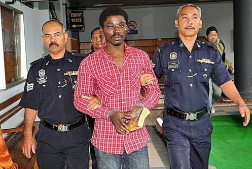 Nov 26, 2014 – Picture: Nigerian Man Sentenced To Death For Drug Trafficking In Malaysia, Abuchi Ngwoke For Execution