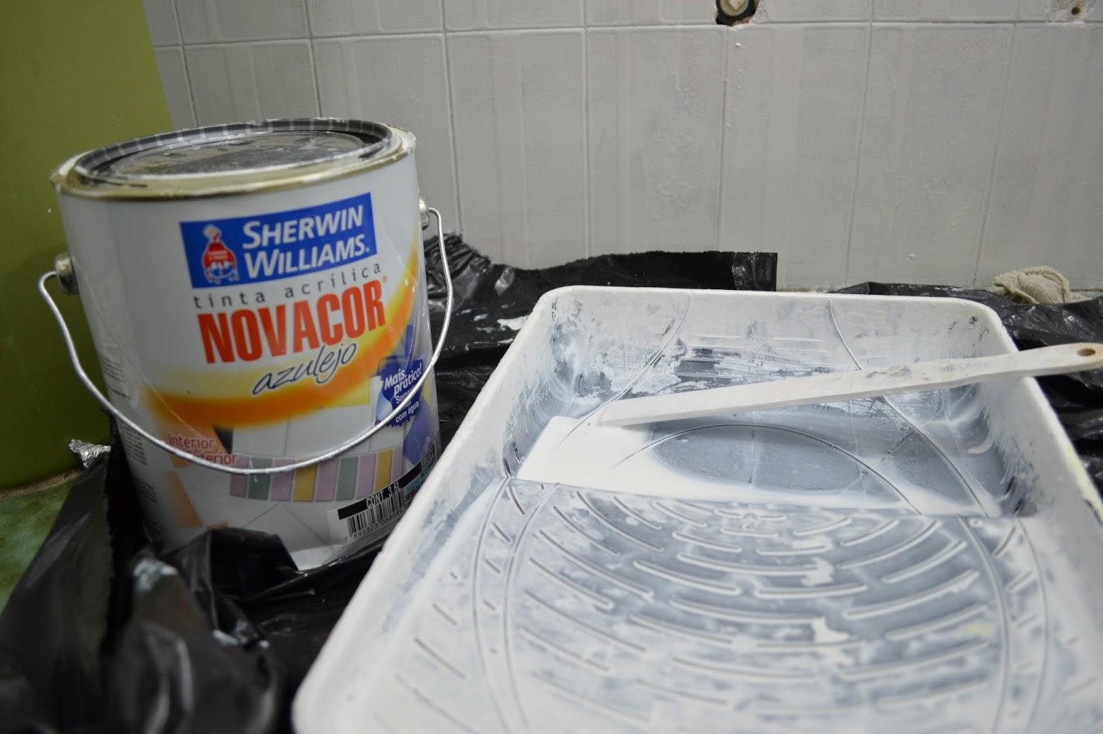 de pintura foi o mesmo da cozinha pra quem não viu clique aqui  #7D3A16 1600x1066 Aqui Não é Banheiro De Cachorro