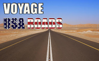 Screenshots of the Voyage USA roads for Android tablet, phone.