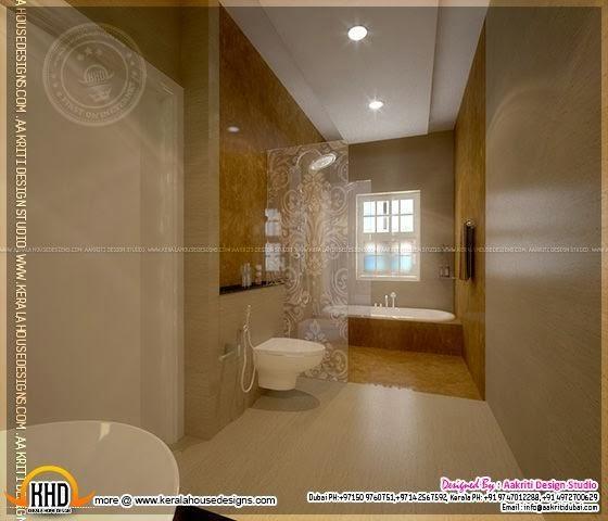 December 2013 kerala home design and floor plans for Bathroom designs kerala