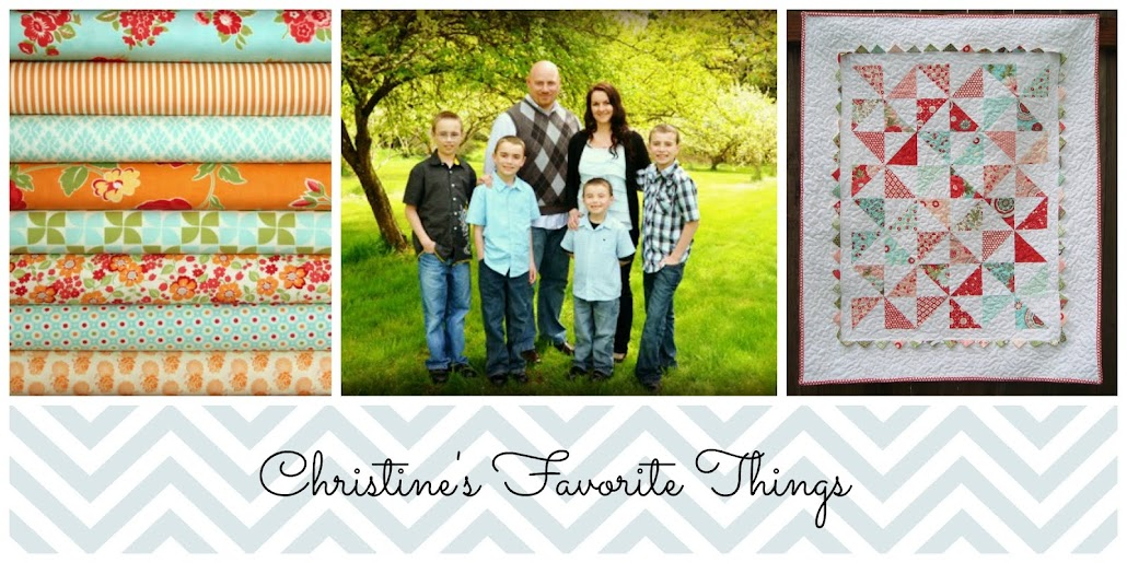 Christine&#39;s Favorite Things