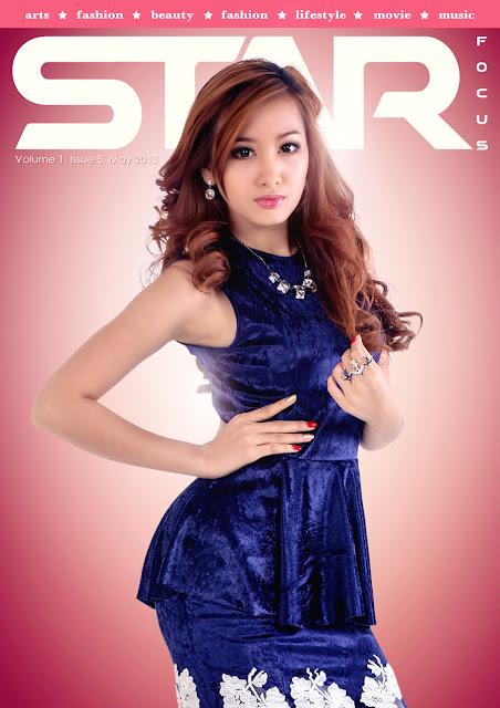 star focus magazine vol1 issue5 cover model yu thandar tin
