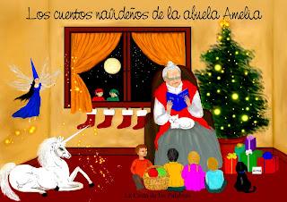 """Próximo libro """"Los Cuentos Navideños de la Abuela Amelia"""""""