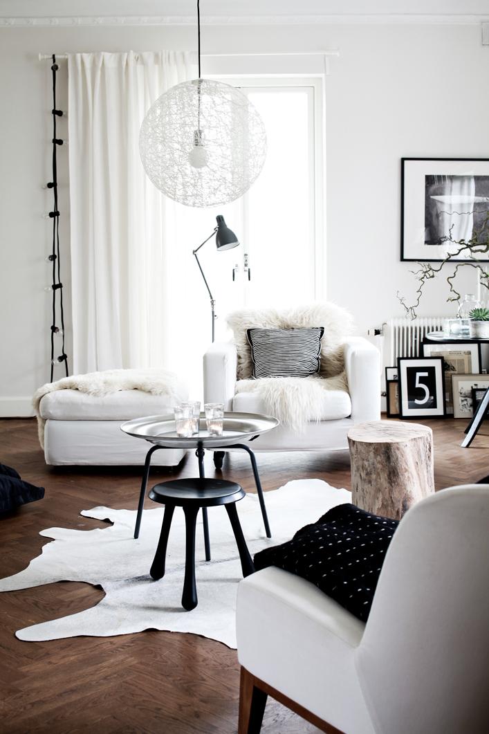 Nordic Blends: Nordic Inspiration: Zwart-wit wonen in Skåne