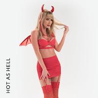 sexy valentine vixen lingerie costume