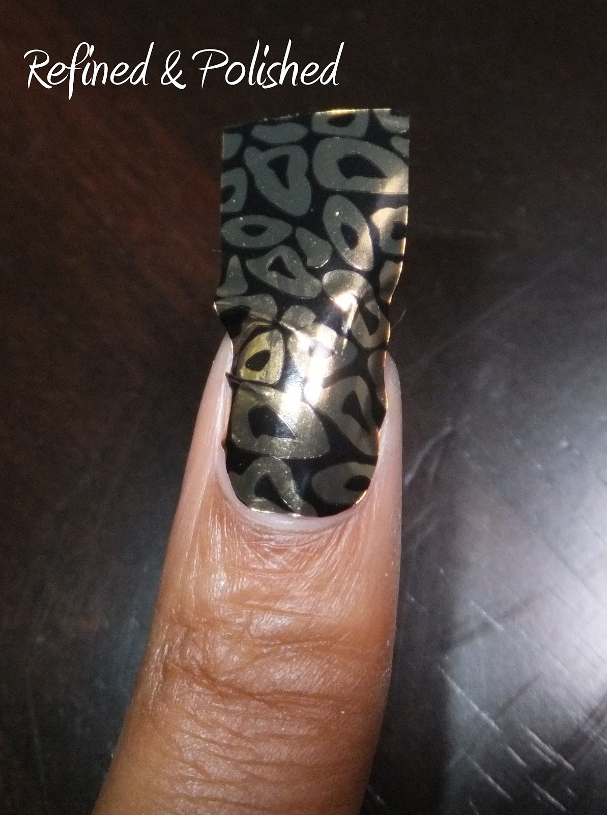 Review ~ Born Pretty Nail Foil Stickers - Refined and Polished