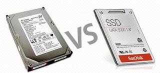 Harddisk vs Solid State Drive (SSD)