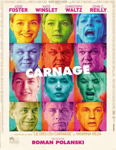 Ver ¿Sabes quién viene? (Carnage) (2011) Online