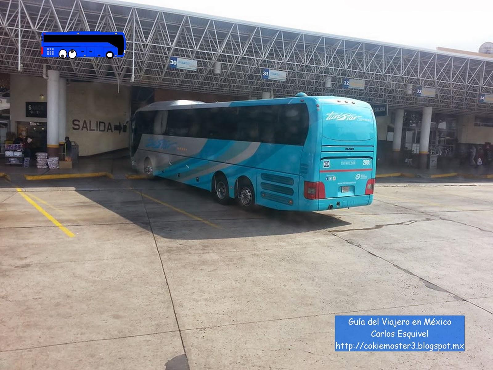 Gu a del viajero en m xico turistar lujo reestrena los - Autobuses larga distancia ...