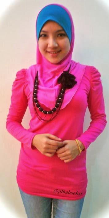 Foto Hot Miss Dinda jilbab ketat dan seksi jilbab+baju+ketat+body+semok04