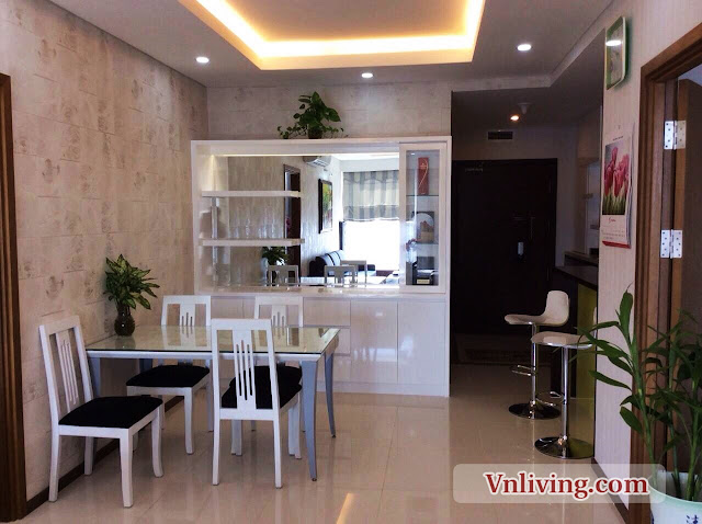Dinning place in Thao Dien Pearl 2 bedrooms