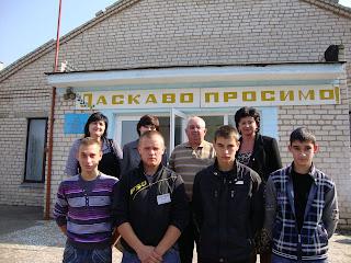 Зустріч з випускниками 10-11-х класів Сирівської ЗОШ Врадіївського району.