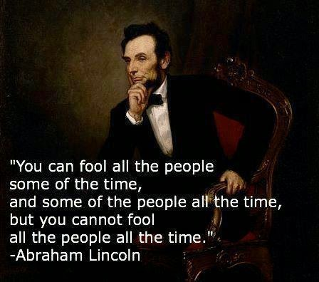 fools and liars; two peas in a pod