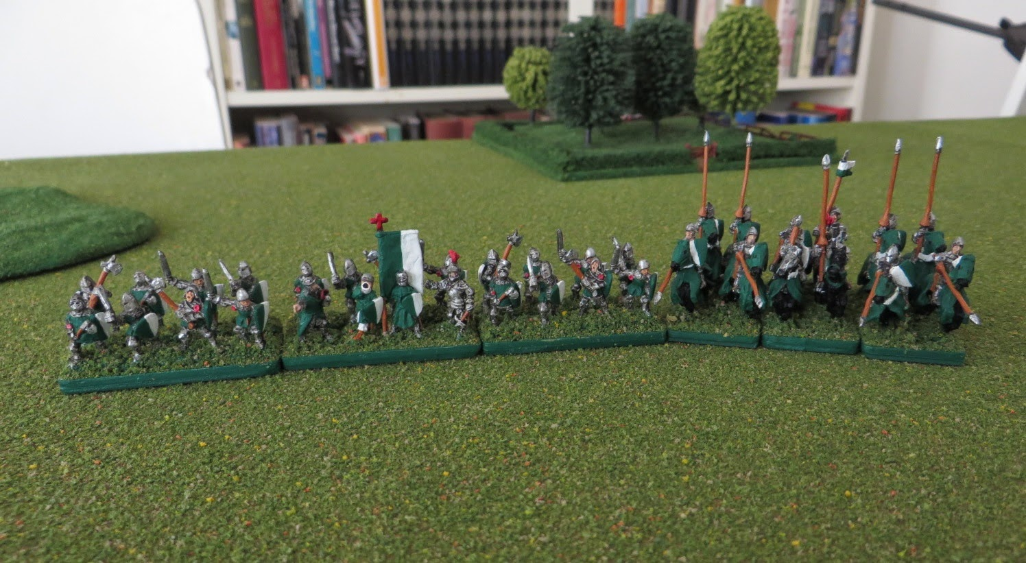 Warmaster, Knights, Cavalry, painted, Kallistra, 100 YW, infantry