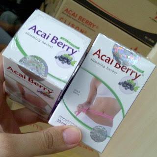 Jamu Obat Pelangsing ABC Acai Berry SoftGell Herbal