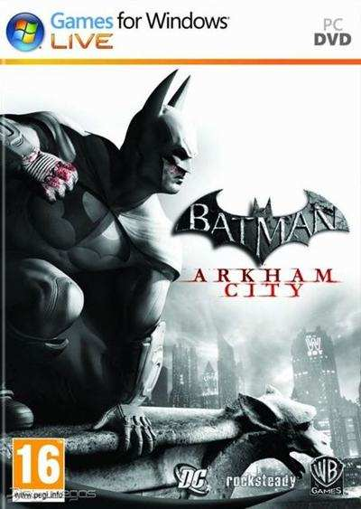 Batman Arkham City PC Full 2011 Español Descargar ISO 4 DVD5 Skidrow