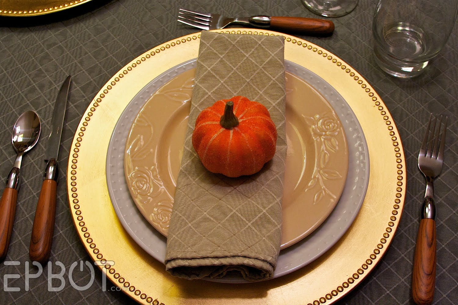 EPBOT: Thanksgiving Table