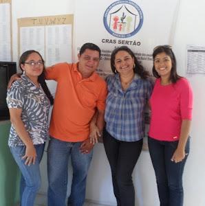 Equipe do CRAS Sertão - 2012