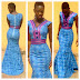 Simple Ankara Beautiful Gown Style for Ladies