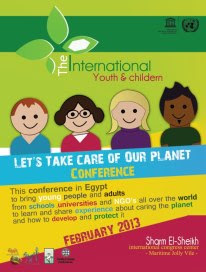 Lets take Care of our Planet - Egito 2013