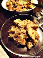 Recipe / Rezept: low carb balsamic chicken pan / low carb Balsamico Hühnchen Pfanne | http://panpancrafts.blogspot.de/