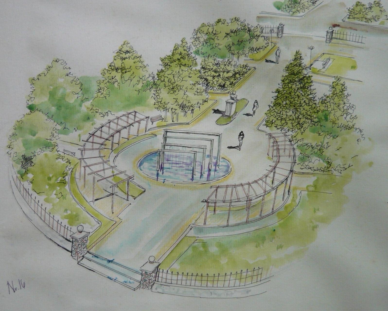 Portafolio dise o iv arquitectura 2011 dise o parque - Arquitectura de diseno ...