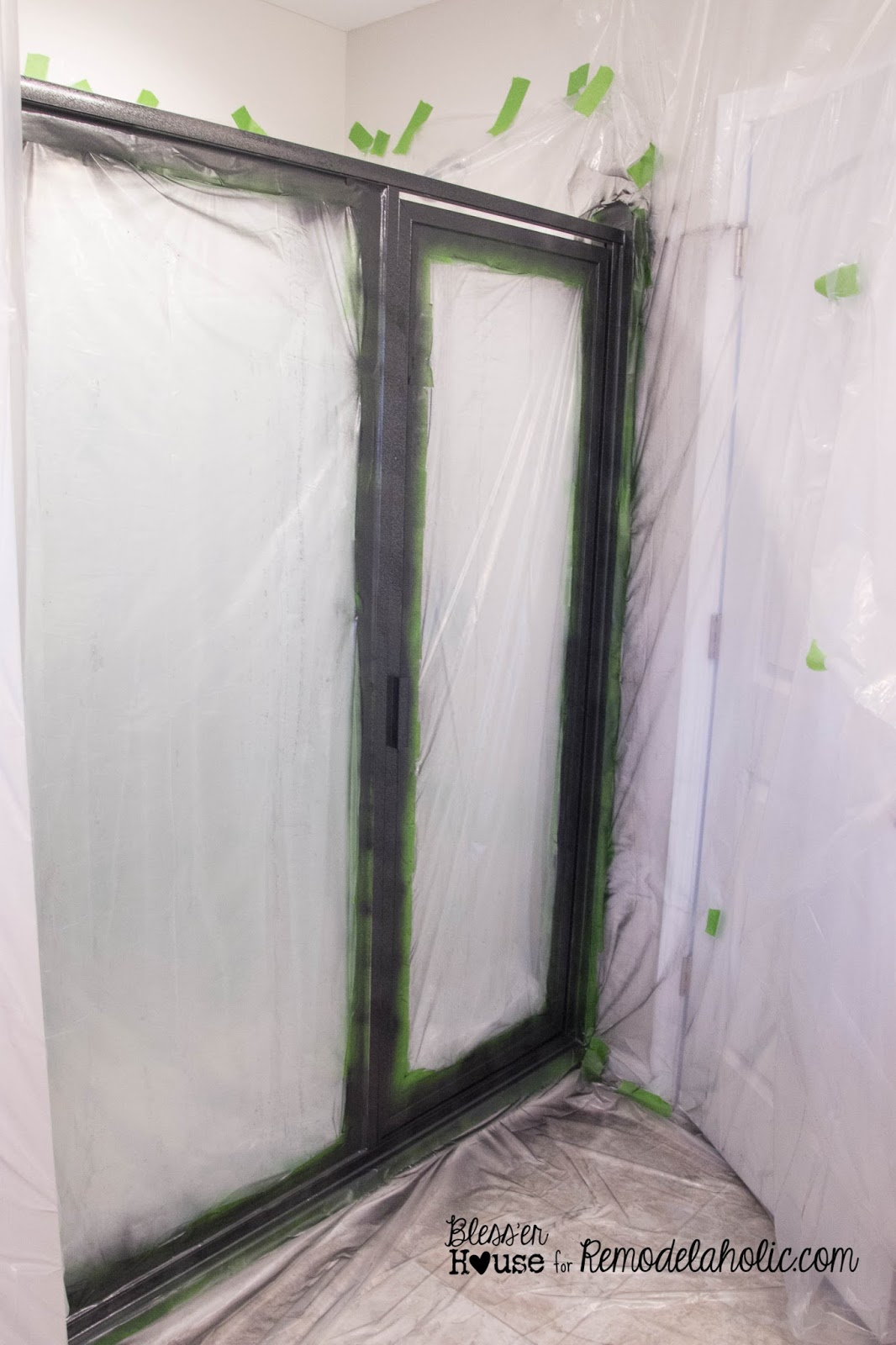DIY Industrial Factory Window Shower Door Tutorial. Let Each Coat Dry To  The Touch Before Another (about An Hour).