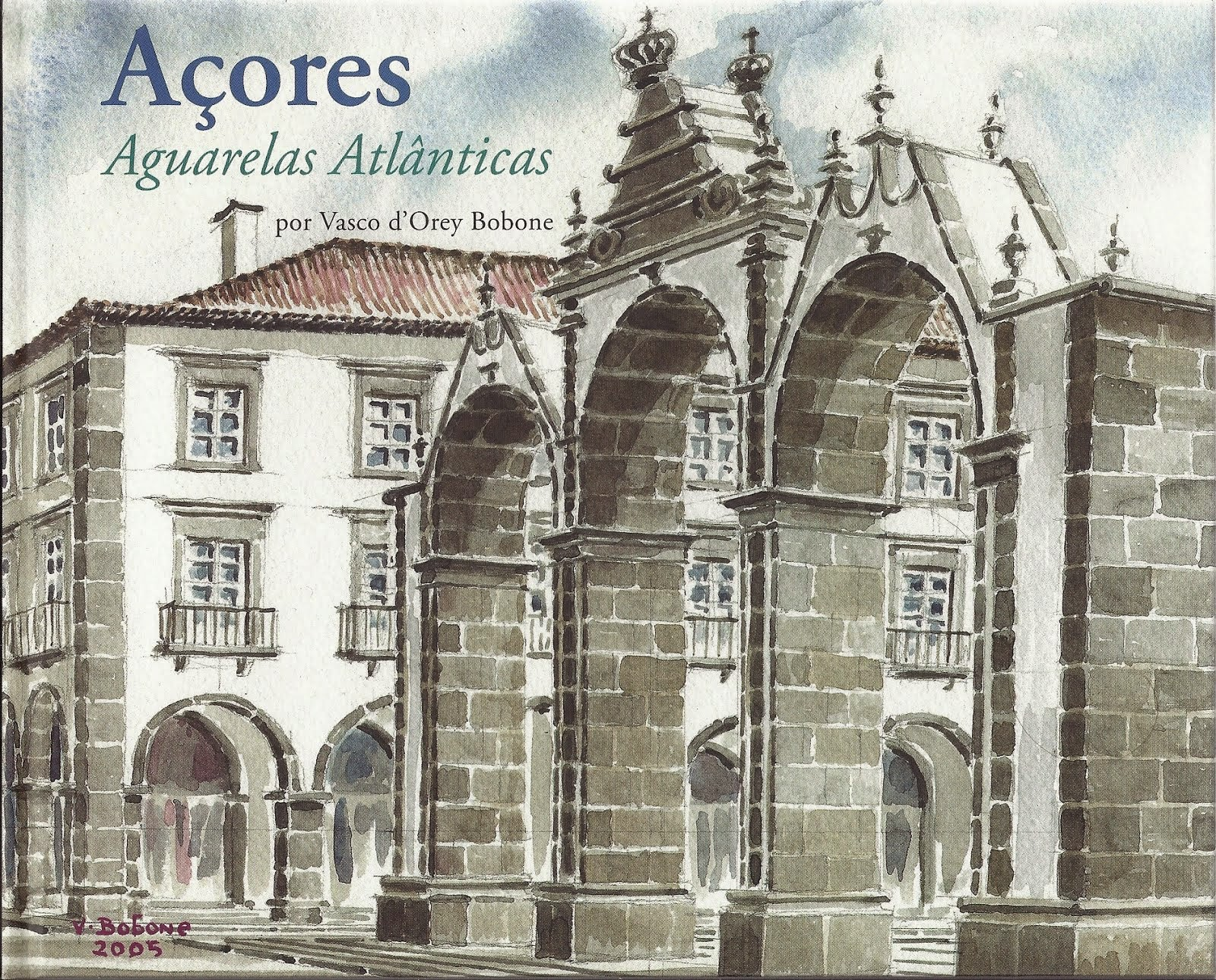 Açores. The Atlantic Watercolors