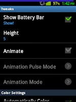 Status Bar Battery Enabled