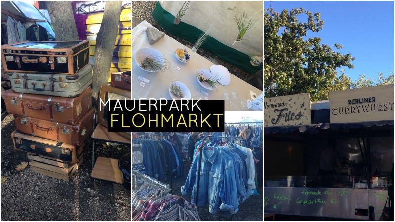 TheBlondeLion Travelguide Berlin Fleamarket Streetfoodmarket Mauerpark Flohmarkt