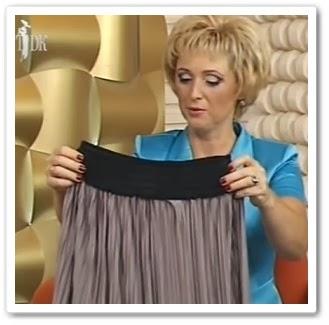 видео урок Как сшить юбку за 15 минут