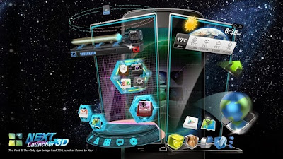 Next Launcher 3D Android APK