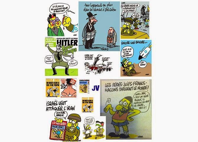 Charlie Hebdo demite jornalista por antissemitismo