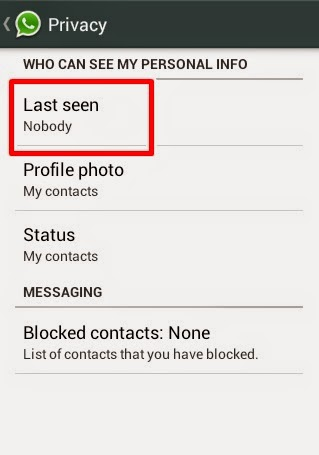 how to detect whats app last seen